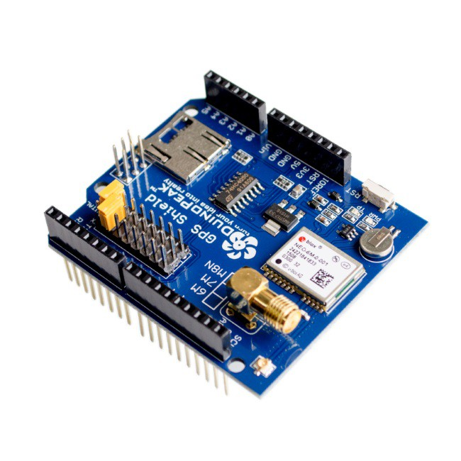 GPS Shield para Arduino com Antena