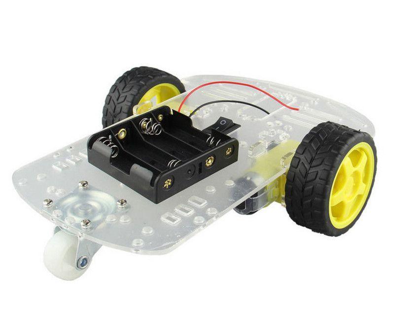 Kit Chassi 2WD Robô para Arduino