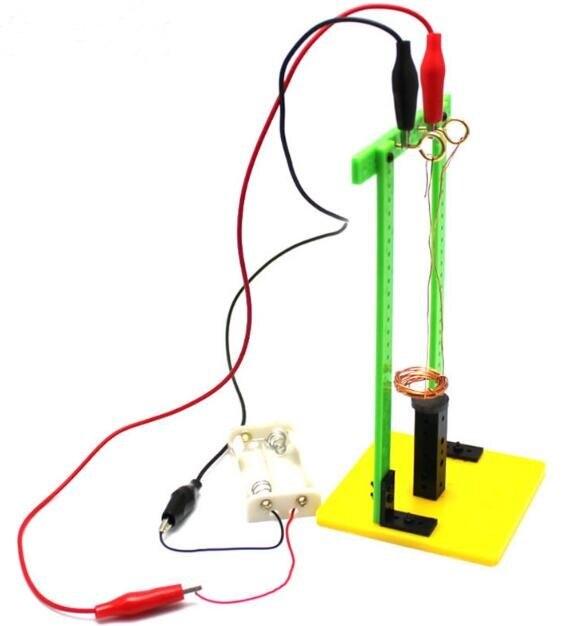 Kit DIY - Experimento Sistema Eletromagnético