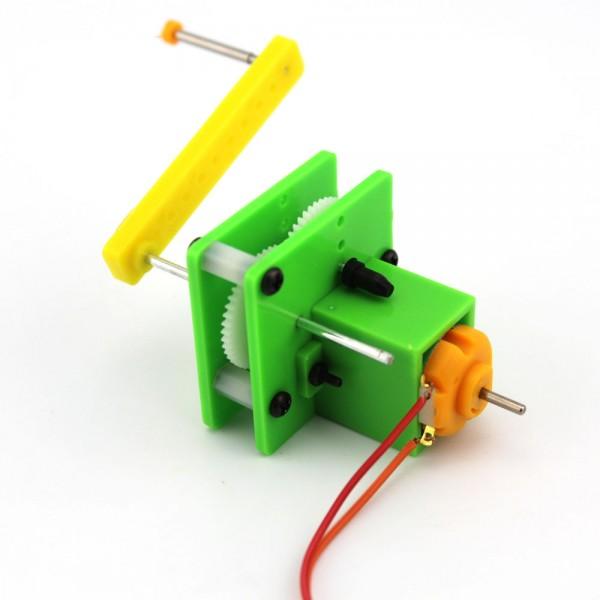 KIT DIY J190B S2 - Experimento Sistema Gerador com Manivela Manual