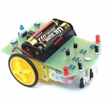 Kit DIY Robô seguidor de linhaD2-1