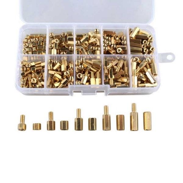 Kit de Espaçadores Latão M3 x300 unidades