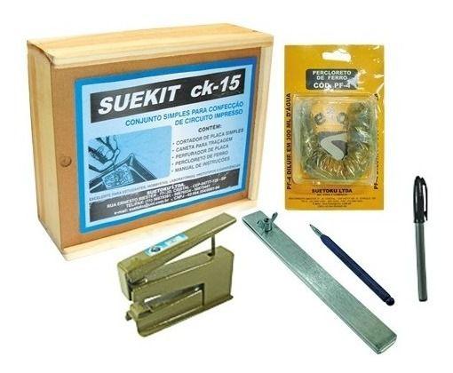Kit para confecção de Placas de Circuito Impresso Iniciante - CK-15