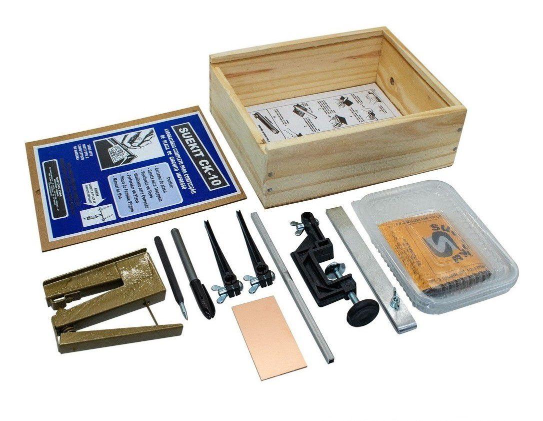 Kit para confecção de Placas de Circuito Impresso Intermediário - CK-10