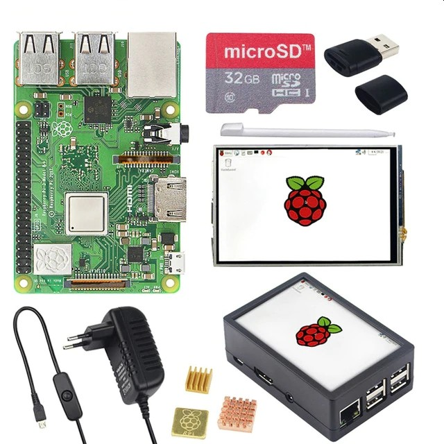 Kit Raspberry Pi 3 B+ com display