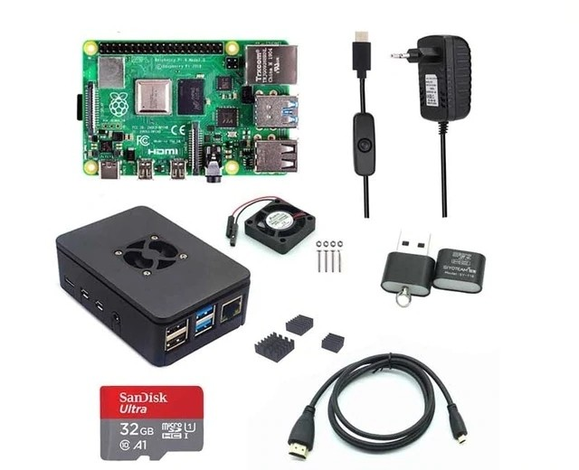 Kit Raspberry Pi 4 Model B 4GB Anatel