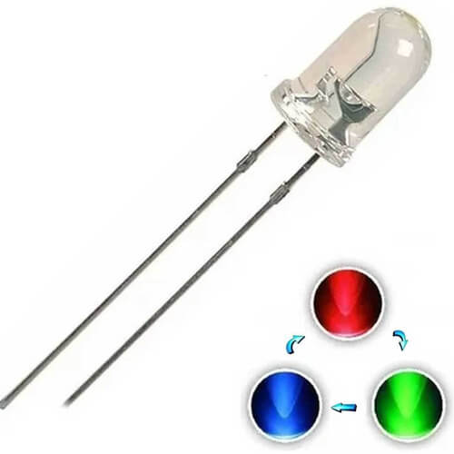 LED Flash Alto Brilho 5mm