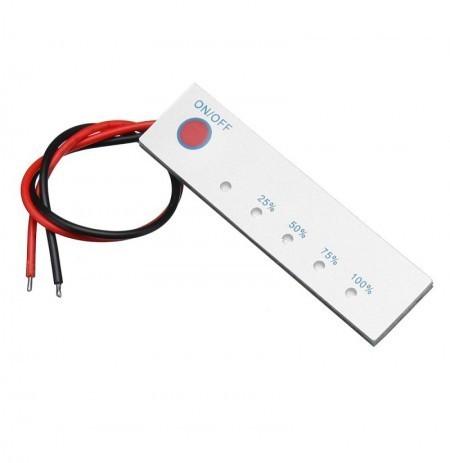 Medidor de Bateria 12V Compatível com Lítio e Chumbo