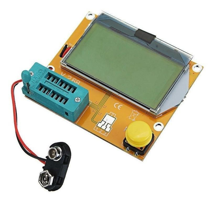 Módulo de ESR Testador de Componentes Eletrônicos LCR-T4
