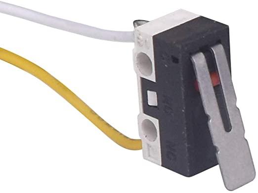 Micro Chave Fim de Curso 1A/125VAC Com Cabo Padrão MK8