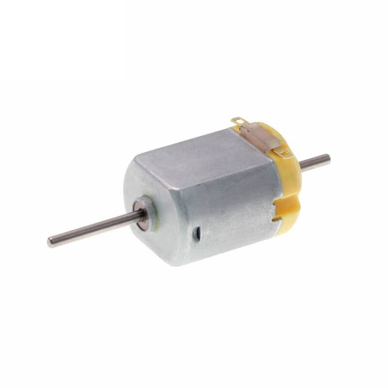 Micro Motor 130 Com Eixo Longo/Duplo 1.5 - 3V
