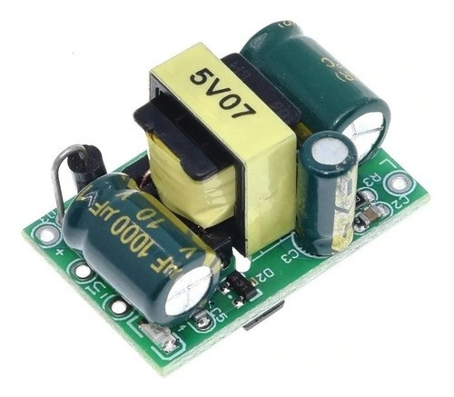 Mini Fonte Aberta AC-DC 100 a 220V para 5V