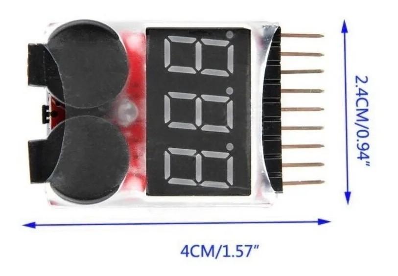 Módulo Alarme de Bateria Li-Po Buzzer