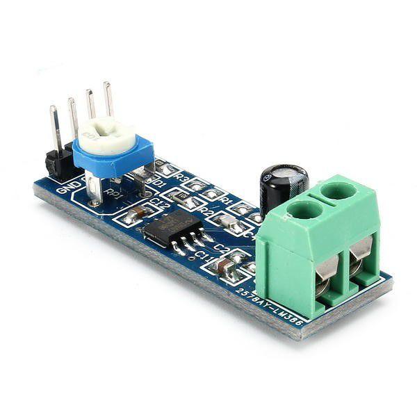 Módulo amplificador de áudio LM386 1,2W RMS
