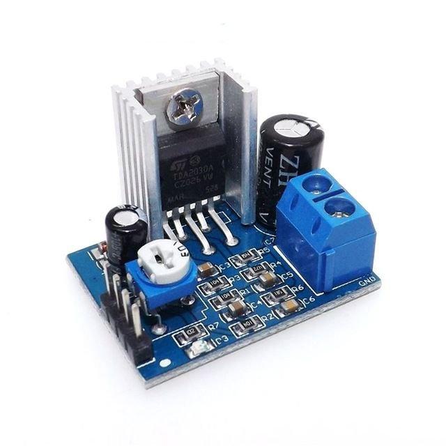 Módulo Amplificador de Áudio TDA2030A