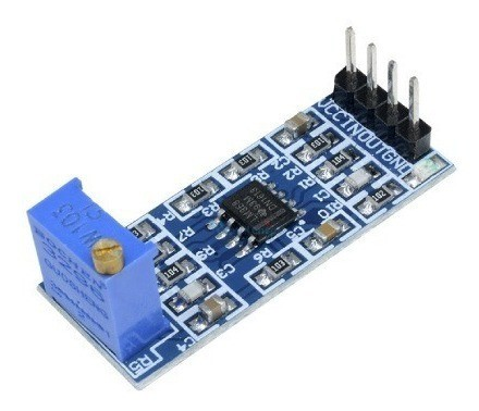 Módulo Amplificador Ganho De Sinal LM358