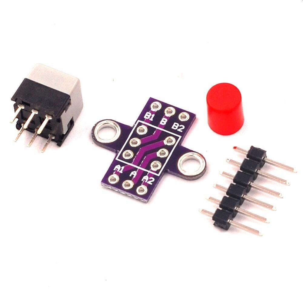 Módulo Botão com Trava MCU-010