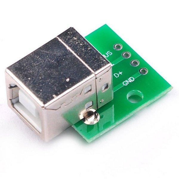 Módulo Conector USB B para DIP