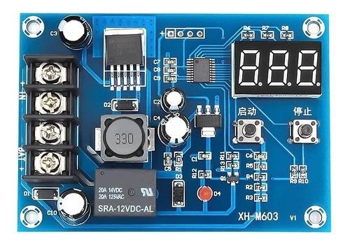 Módulo Controlador de Carga de Bateria XH-M603 12-24V