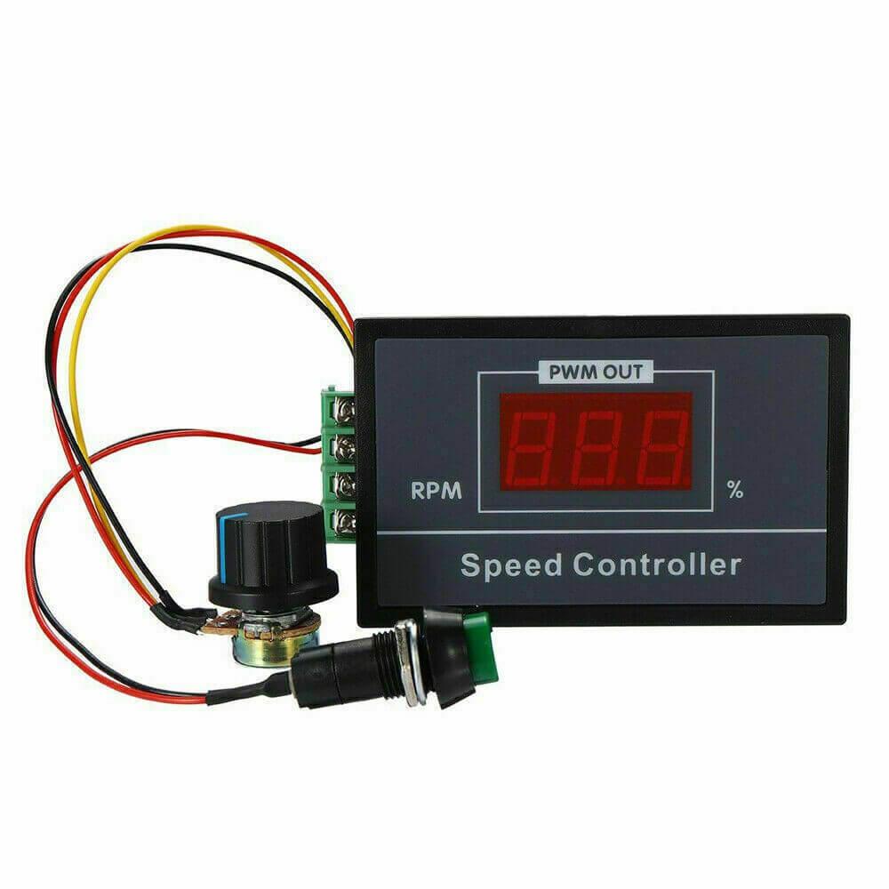 Módulo Controlador PWM com Display 6V a 60V 20A