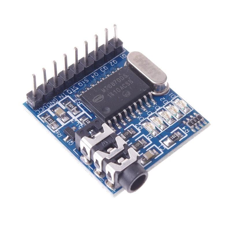 Módulo decodificador MT8870 DTMF