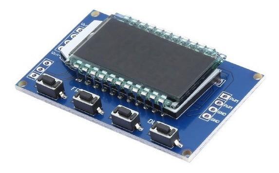 Módulo Gerador de PWM Ajustável com LCD