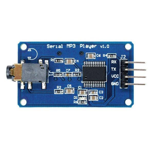 Módulo Leitor de Cartão com Saída de Áudio YX5300