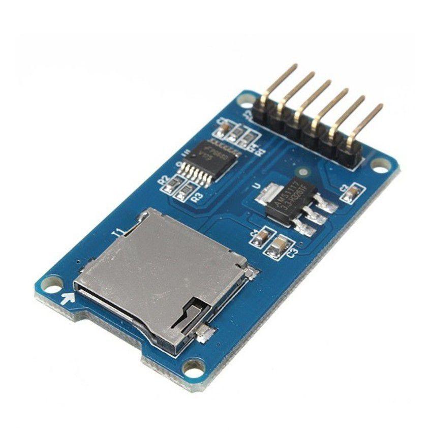 Módulo Leitor Gravador Micro SD