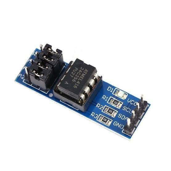 Módulo memória EEPROM AT24C256 com interface I2C