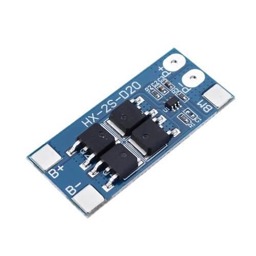 Módulo Proteção para Baterias LI-ION BMS 2S