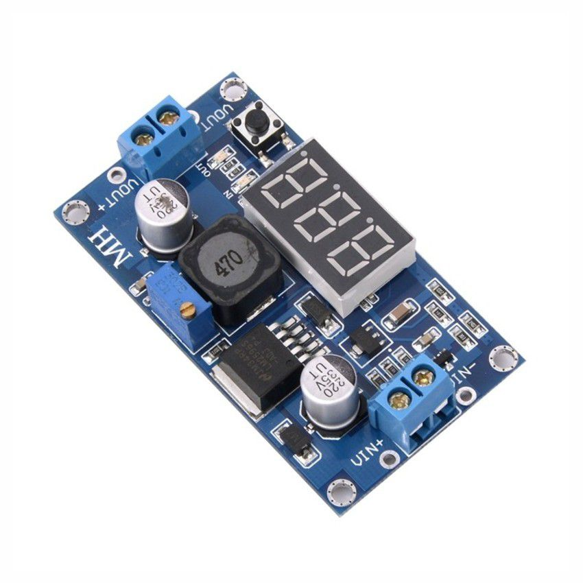 Módulo Regulador de Tensão Step-down Lm2596 com Display