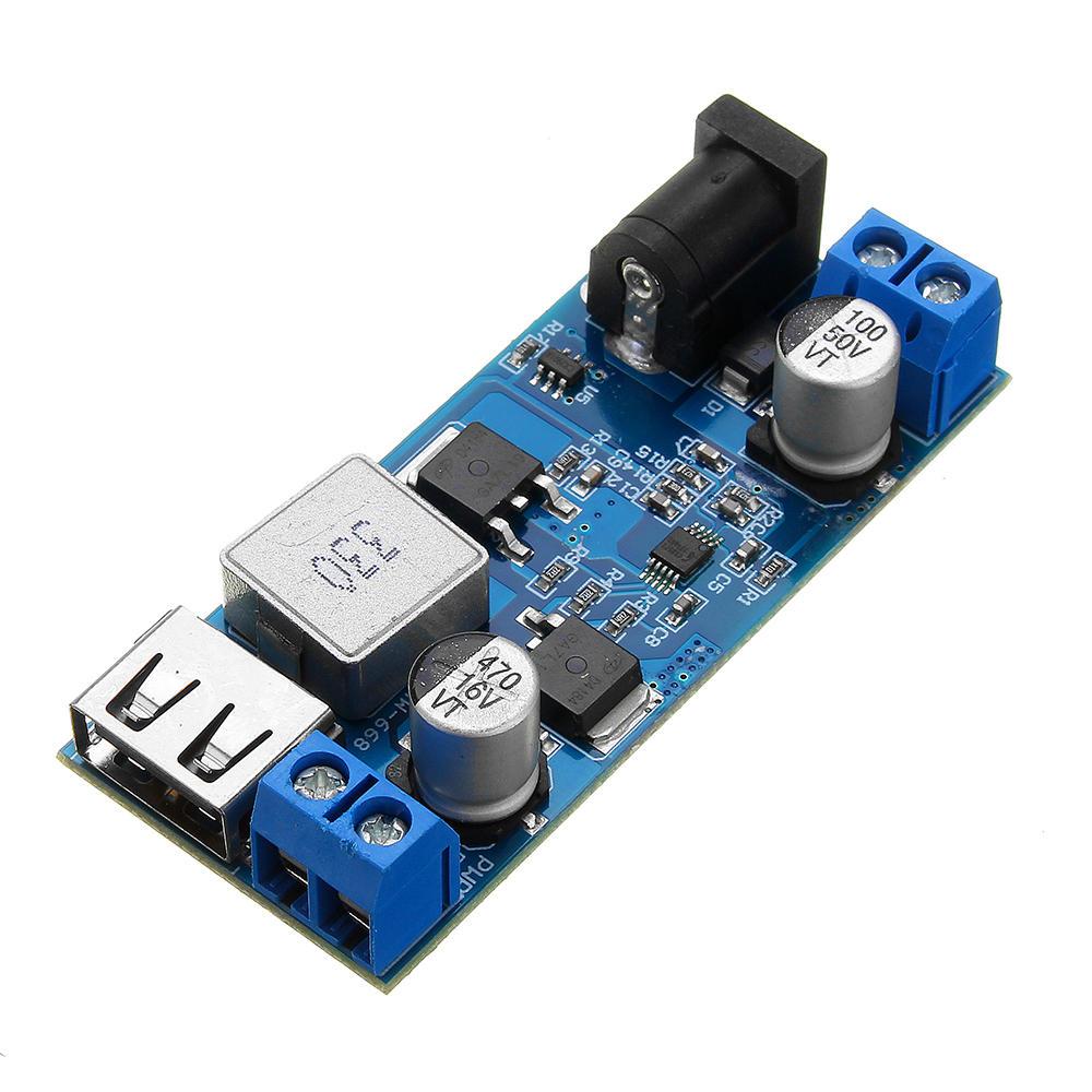 Módulo Regulador LM2596S 9-36V para Saída USB 5V 5A