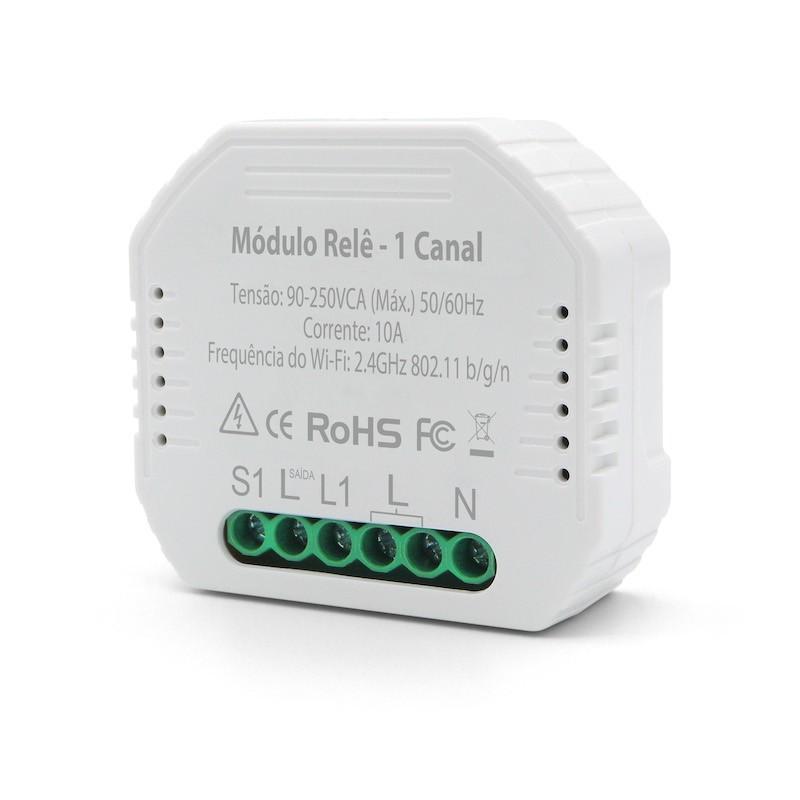Módulo Relé Inteligente WiFi 1 Canal