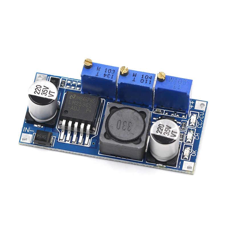 Módulo Step Down LM2596 com ajuste de tensão constante e corrente