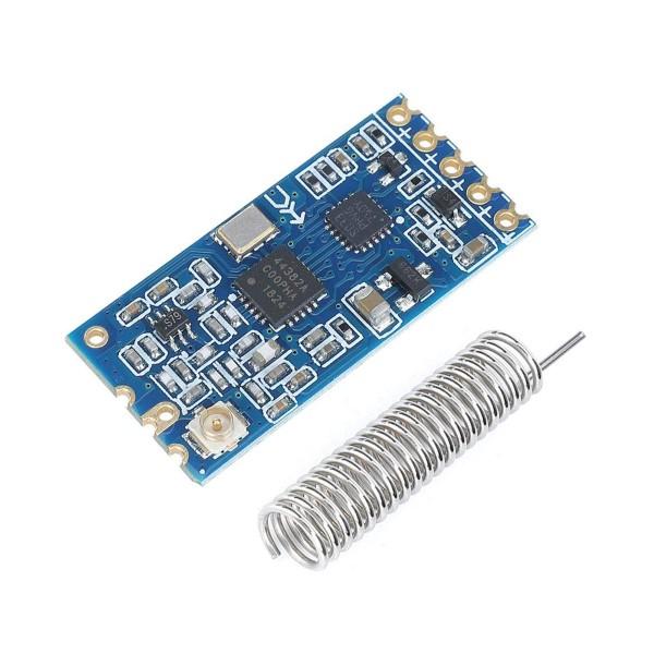 Módulo Transceptor RF HC-12 com Antena