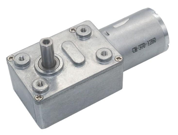 Motor com Caixa de Redução JGY-370 12V 10RPM