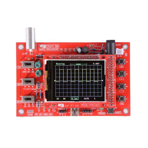 Kit Osciloscópio digital DSO138 - DIY