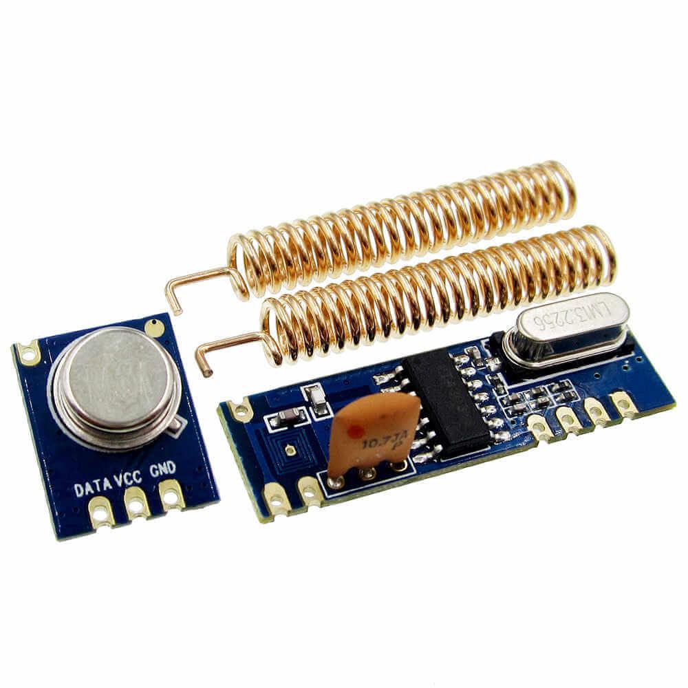 Par de Módulos RF STX882 e SRX882 com Chip Super Heteródino