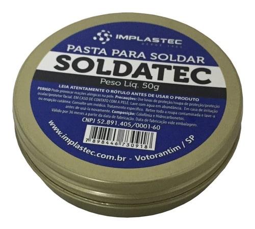Pasta de Solda Soldatec - 50g