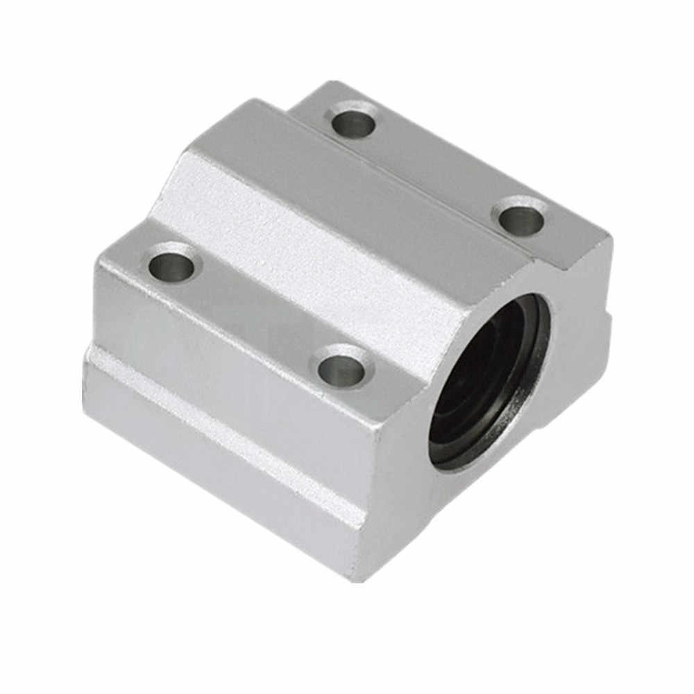 Pillow Block SC12UU com Rolamento para guia Linear 12mm