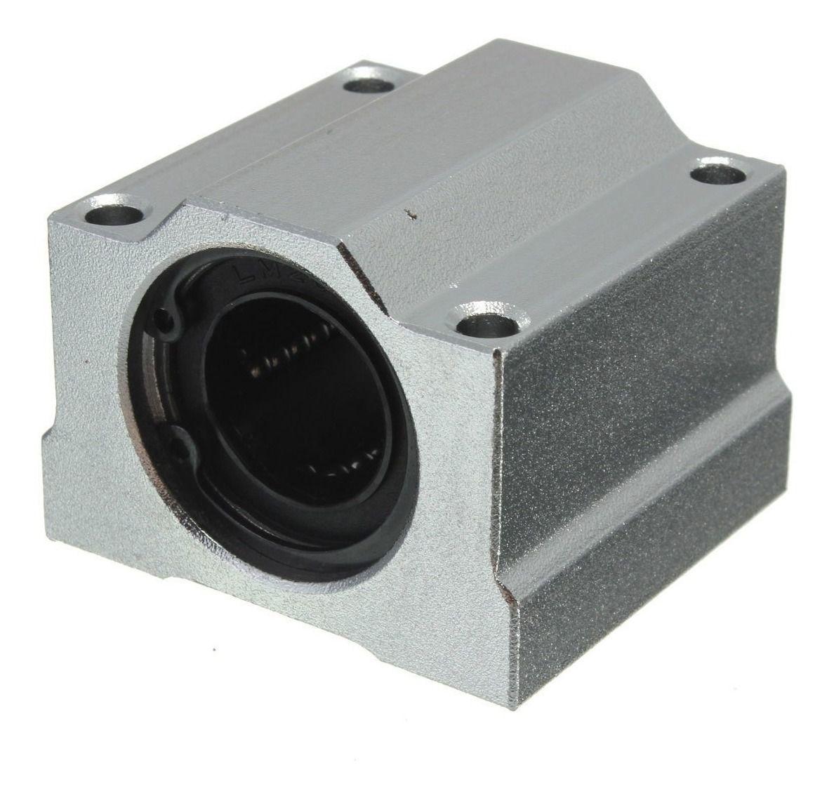 Pillow Block SC20UU com Rolamento para guia Linear 20mm