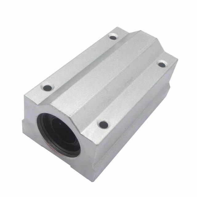 Pillow Block SCS20LUU com Rolamento para guia Linear 20mm