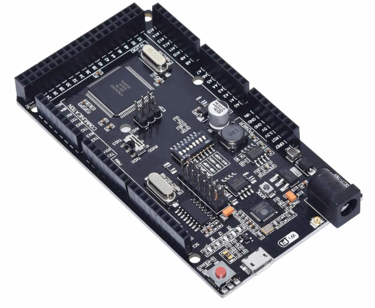 Placa Mega 2560 R3 Wifi ATmega2560 + ESP8266 (Arduino Compatível)