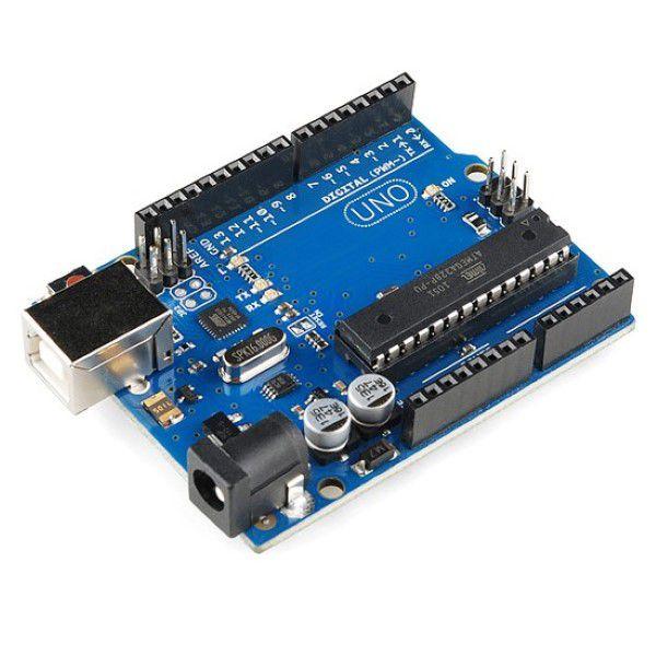 Placa UNO R3 + cabo USB Arduino Compatível