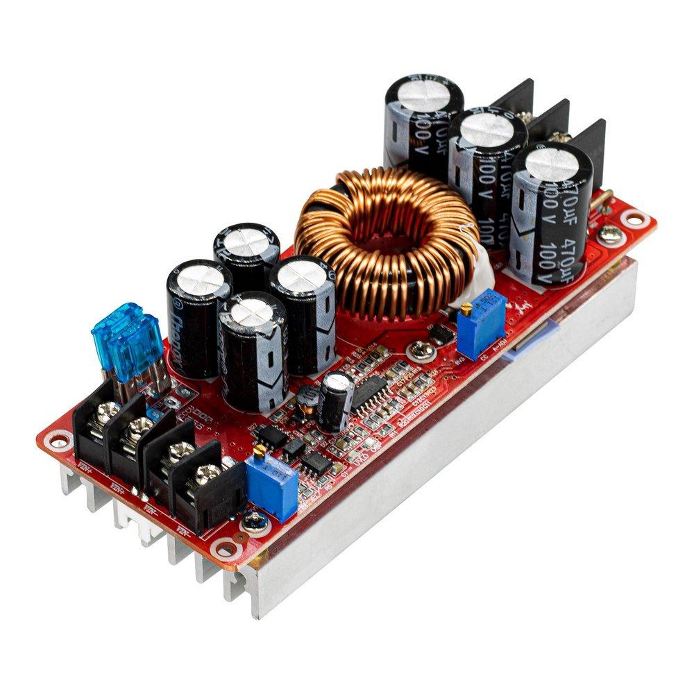 Regulador de Tensão Conversor DC-DC STEP-UP 1200W 20A