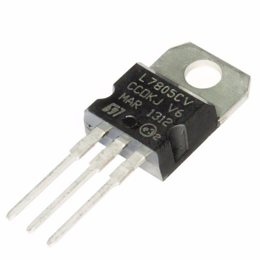Regulador de Tensão LM7805 5V