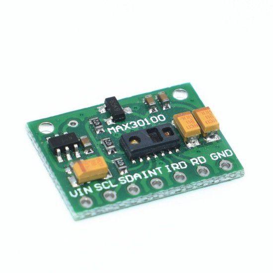 Sensor de Batimento Cardíaco e Oxímetro MAX30100