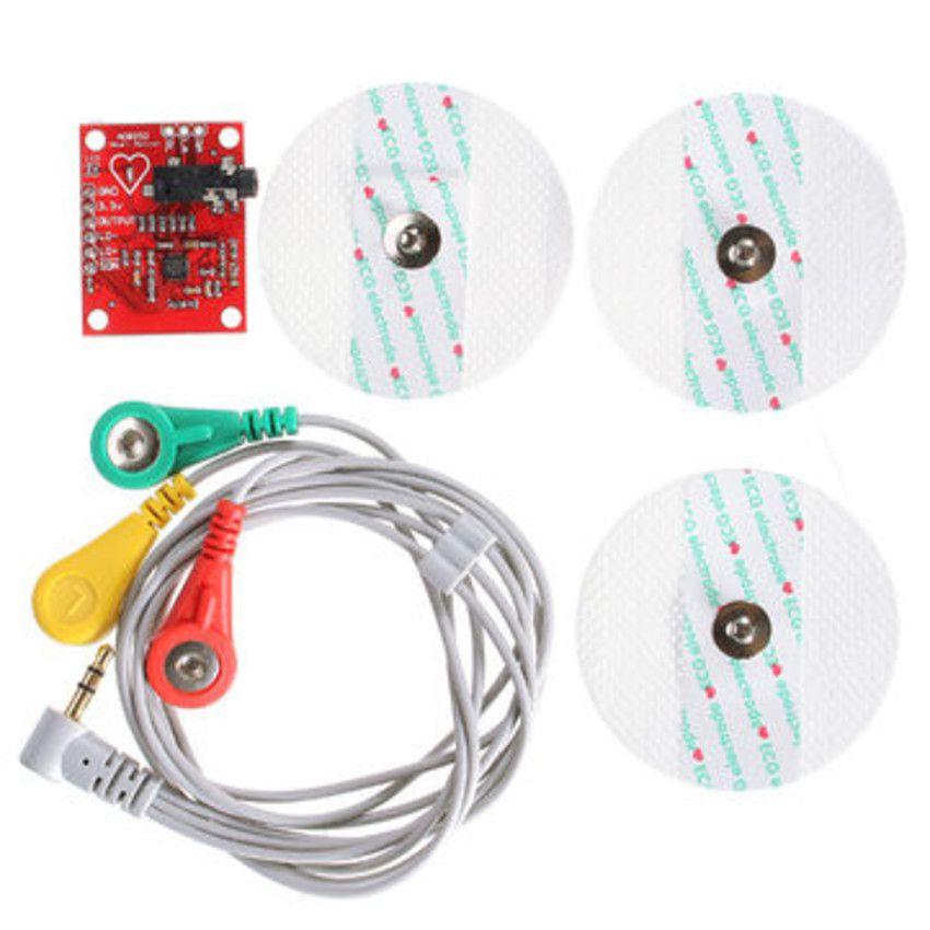 Sensor de Batimentos Cardíacos ECG para Arduino - AD8232