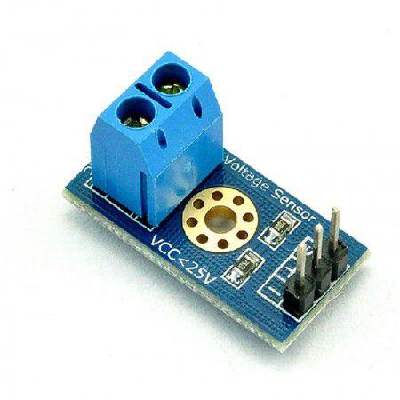Sensor de tensão 0-25VDC