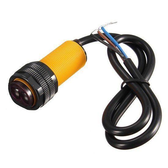 Sensor Reflexivo Infravermelho de Distância Ajustável E18-D80NK
